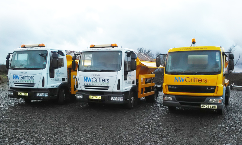 Gritting Services North Wales